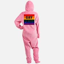 GAY pride Footed Pajamas