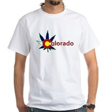 Pot Leaf COlorado T-Shirt