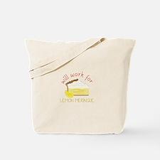 Lemon Meringue Tote Bag