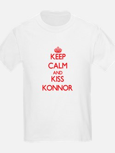 Keep Calm and Kiss Konnor T-Shirt