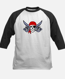 Pirate - Skull with Crossed Swords Tee