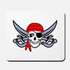 Pirate - Skull with Crossed Swords Mousepad