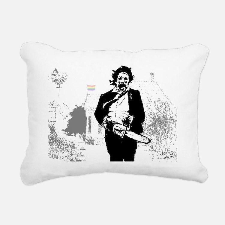 Cute Horror Rectangular Canvas Pillow