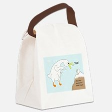 Talk to God Canvas Lunch Bag