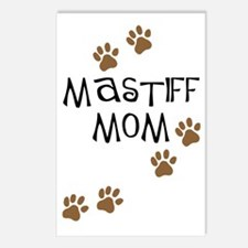 Mastiff Mom Postcards (Package of 8)