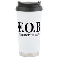 Cute Father of the groom Travel Mug