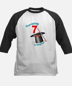 7th Birthday Magical Kids Baseball Jersey