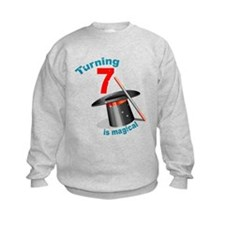 7th Birthday Magical Sweatshirt
