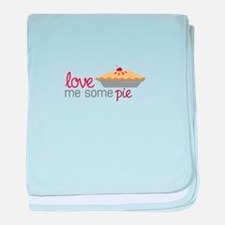Love Pie baby blanket