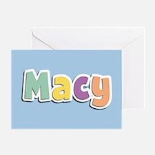 Macy Spring14 Greeting Card