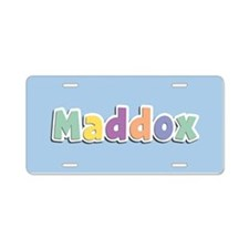 Maddox Spring14 Aluminum License Plate
