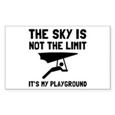 Hang Glide Playground Decal