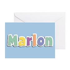Marlon Spring14 Greeting Card