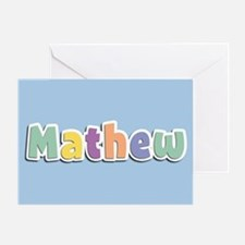 Mathew Spring14 Greeting Card