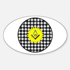 S&C on Mosaic Pavement Oval Decal
