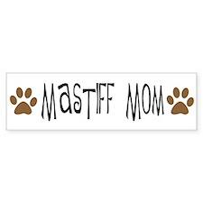 Mastiff Mom Bumper Car Sticker