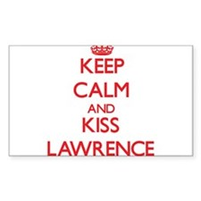 Keep Calm and Kiss Lawrence Decal