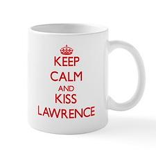 Keep Calm and Kiss Lawrence Mugs