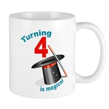 4th Birthday Magic Show Mug
