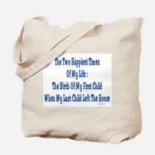 Happy Times of Life Tote Bag
