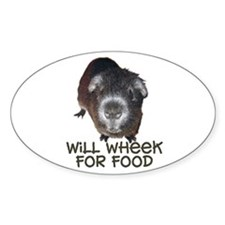 Wheeker Oval Decal