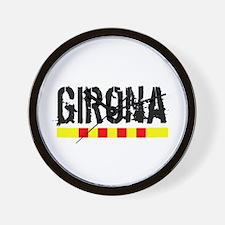 Catalunya: Girona Wall Clock
