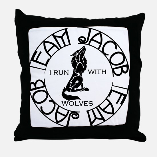 team-j.png Throw Pillow