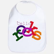 'Cello Rocks Bib