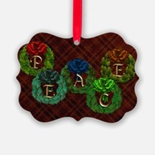 Harvest Moon's Peace Wreaths Ornament