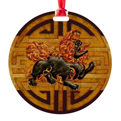 Harvest Moon's Foo Dog Ornament