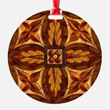 Harvest Moons Renaissance Marquetry Ornament