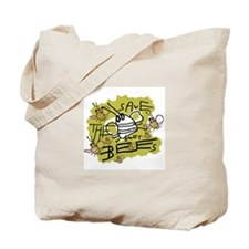 save the honey bees Tote Bag