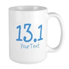 Customize Blue 13.1 (center) Mugs