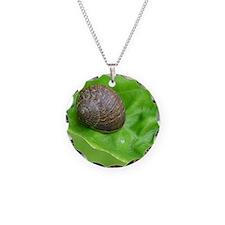 Garden Snail Necklace