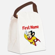 Mighty Mouse Canvas Lunch Bag