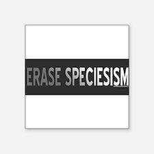"""Cute Erase Square Sticker 3"""" x 3"""""""