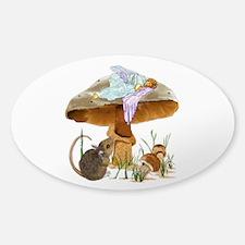 fairy mushroom Decal
