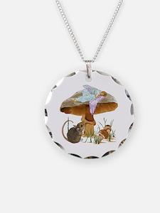 fairy mushroom Necklace