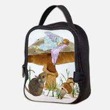 fairy mushroom Neoprene Lunch Bag