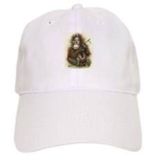Orangutan Baby With Leaves Baseball Baseball Baseball Cap