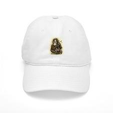 Orangutan Baby With Leaves Baseball Cap