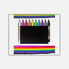 Rainbow Crayon Picture Frame