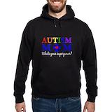 Autism mom Hoodie (dark)