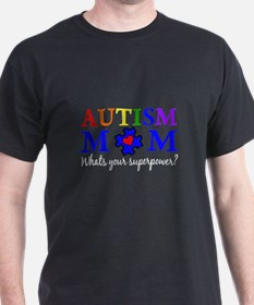 Autism Mom Superpower T-Shirt