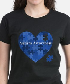 Autism Awareness Heart T-Shirt