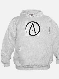 Atheist Symbol Hoodie