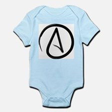 Atheist Symbol Body Suit