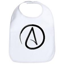Atheist Symbol Bib
