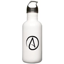 Atheist Symbol Water Bottle