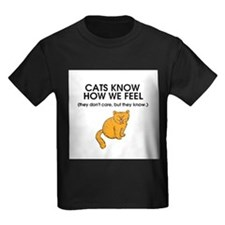 Cats Know T-Shirt